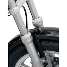 Chrome Fork Boot Cap Cover Harley Davidson Sportster Dyna FXR 1987-2015 XL XLH