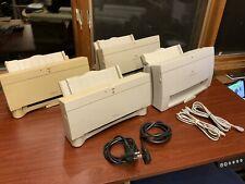 4x Vintage Apple Macintosh StyleWriter II and Color StyleWriter 2400 Printers