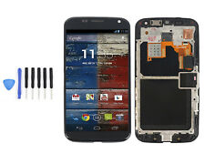 LCD Screen Touch Digitizer Frame Assembly Fr Motorola M070X XT1053 XT1058 XT1060