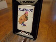 PLAYBOY COVER TOPLESS GIRL ROLLERBLADING ZIPPO LIGHTER MINT IN BOX
