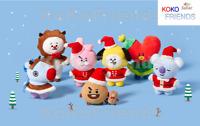 BTS BT21 Official Winter Edition Plush Doll Authentic KPOP Goods Bangtan Boys MD