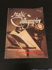 Italic Calligraphy By Abraham Lincoln - 1982 - Paperback - Calligraphy Workbook