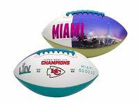 Kansas City Chiefs Super Bowl 54 LIV Champions Official Full Size Football