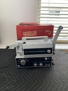 Eumig Mark S 810 D 8mm & Super 8 SOUND Projector (As-Is)