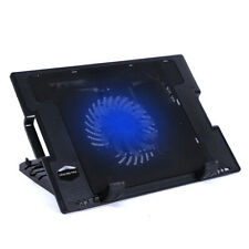Laptop Cooling Cooler Pad for 12-15.6inch Laptop Adjustable Angled Stand 1 Fans