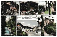 Ansichtskarte Bad Berneck -Kolonnade/Marktplatz/Ruine/Ölschnitztal/Gesamtansicht