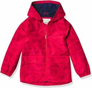 Carter's Boys Red Rainslicker Jacket Size 4 5/6 7