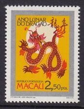 China Macau 1988 New Year of Dragon stamp