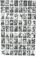 1967 LEAF Star Trek Uncut Sheet Trading Card Set of 72 Cards-European Reprint