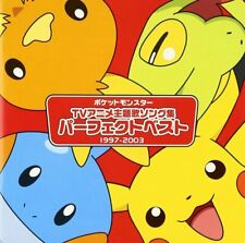 Pokemon anime manga Music Soundtrack Japanese Cd The perfect best 1997-2003