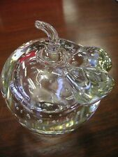 """Apple with Bubbles Paperweight -4 1/4"""" x 3"""" - Wt. 22 oz - Very Good Condition"""