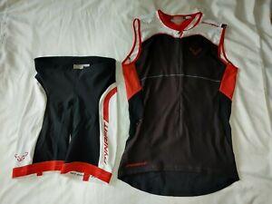 Men's Dynafit Tri Cycling Kit Short No Pad & Jersey L 34