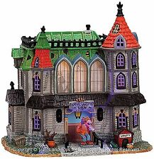 Lemax 75493 WEREWOLF'S DEN Spooky Town Retired Animated Building Halloween S O I