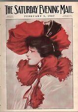 1907 Saturday Evening Mail February 2 - Women as Mountain Climbers; Ellen Terry