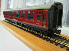 HORNBY DUBLO MARK ONE OPEN COACH M3002 IN BR MAROON LIVERY UNBOXED.