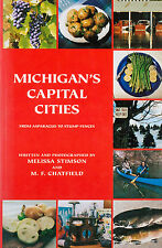 Michigan's Capital Cities: From Asparagus to Stump Fences ⚫ Melissa Stimson, VG+