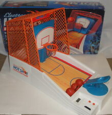 VINTAGE 1990 ELECTRONIC HOT SHOT BASKETBALL w/ BOX - Tabletop Sport Arcade Game