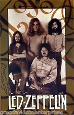 Led Zeppelin 23x35 Green ZOSO Group Poster 1998