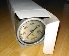 RUEGER Probe Thermometer 300mm Stem 0-260C