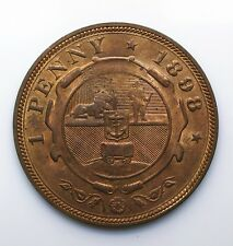 1898 South Africa 1 One Penny Zuid Afrikaansche Republiek - Lot 122