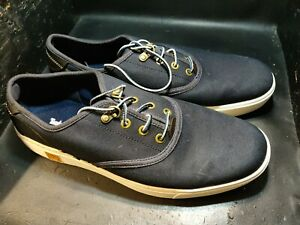 Timberland Oxford Canvas Ultra Light Sensorflex Men Lace Up shoes In Matt black