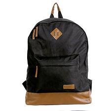 Retro Canvas Backpack Satchel Rucksack School Bag Bookbag Travel Bag