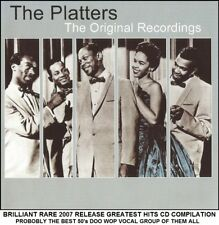 The Platters - Very Best Greatest Hits Collection - RARE 50's Vocal Doo Wop CD