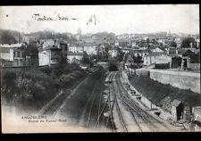 ANGOULEME (16) TUNNEL FERROVIAIRE NORD Ligne de BORDEAUX en 1902
