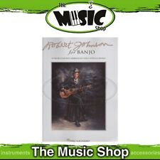 New Robert Johnson for Banjo Music Book - Banjo Songbook
