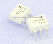 10pcs moc3061 zero-cross DIP-6 optoisolators TRANSISTOR NUOVI CF