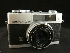 Konica C35 35mm Point and Shoot Film Camera 38mm f/2.8 Lens