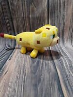 Mojang Minecraft Plush Baby Ocelot Yellow Cat Block Lion Stuffed Animal NEW