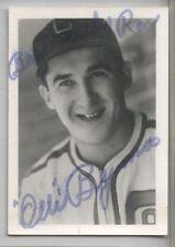 1931 Photo ( 2 X 3) Ollie Bejma Chicago White Sox  Autograph d. 1995