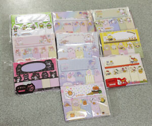 1 Set Collectible Sanrio Original Sticky Notes Index Memo Office Gift Tag