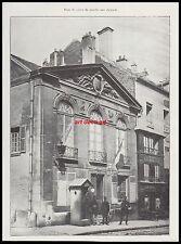 Commissariat Poste de Police du Marché aux chevaux  PARIS Gendarmerie 1909