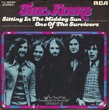 "7"" Kinks – Sitting In The Midday Sun // Germany 1973"