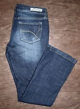 Refuge Size 28x28 Womens Runway Everyday Bootcut Jeans Low Rise