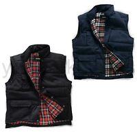 Padded Quilted Body Warmer Waistcoat Gilet Mens Phone Pocket Sleeveless Jacket