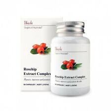 Unichi Rosehip Extract Complex ~ 60 Capsules ~ Fast Shipping 7-14 Days Arrive !!