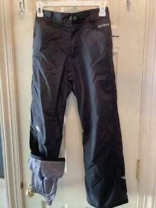 The North Face Youth Sz M 8-10 Hyvent Ski Snow Pants Black