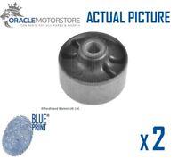 2 x NEW BLUE PRINT REAR SUSPENSION ARM BUSH PAIR GENUINE OE QUALITY ADG080244