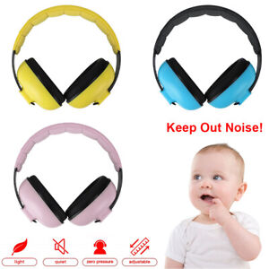 Baby Hearing Protection Safety Ear Muffs Kids Noise Cancelling Headphones US