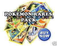 10 Rare Pokemon Cards Pack | No duplicates | NEW