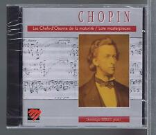 CHOPIN CD NEW LATE MASTERPIECES POLONAISE BERCEUSE DOMINIQUE MERLET