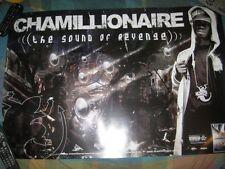 CHAMILLIONAIRE-(the sound of revenge)-24X36 POSTER-MINT-RARE