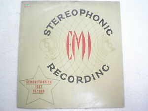DEMO TEST lp STEREOPHONIC SOUND COMMENTARY MICHAEL JACKSON  INDIA 294 VG+