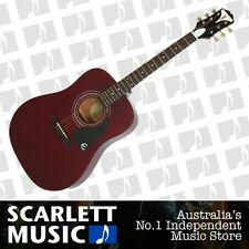Epiphone PRO-1 Wine Red Acoustic Guitar *BRAND NEW*