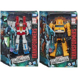 Transformers Earthrise War for Cybertron Action Figure- Starscream or Grapple