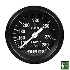 Durite - Water Temperature Gauge Fahrenheit 52mm with 12'' Capillary Bx1 - 0-533