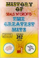 Seals N Croft .. History Of The Greatest Hits. Import Cassette Tape